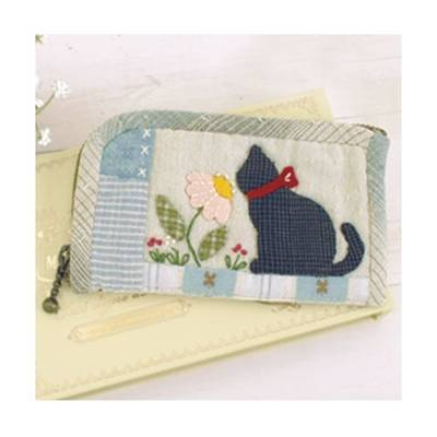 Kit Olympus Trousse Rectangle Chat & Fleurs