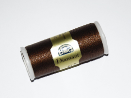 Fil DMC diamant - coloris marron