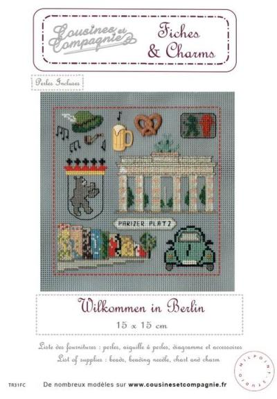 BERLIN - SEMI-KIT FICHES & CHARMS