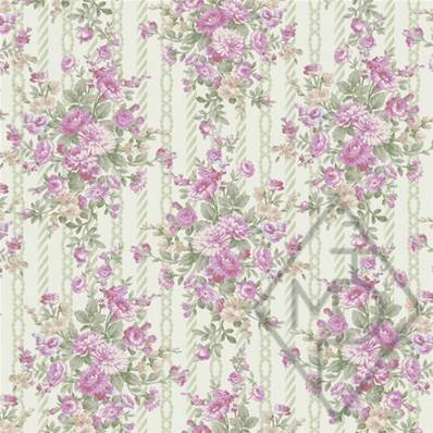 Tissu Quilt Gate collection Ruru Rose Perfume